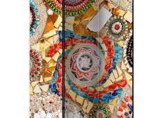 Paraván - Moroccan Mosaic  [Room Dividers]